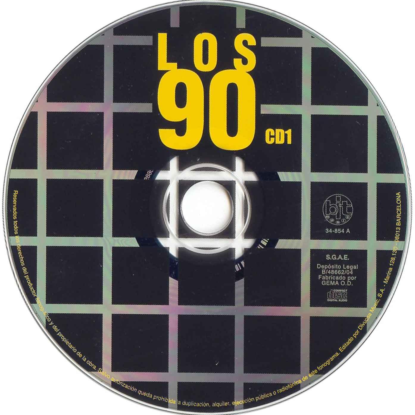 100 de los 90 musica: